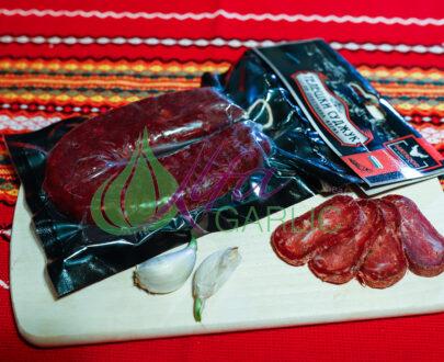 Суджук, Телешки суджук Трайни сурово- сушени колбаси, Деликатеси