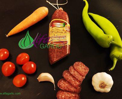 салам, луканков салам, амбарица, Трайни сурово- сушени колбаси, луканков салам амбарица