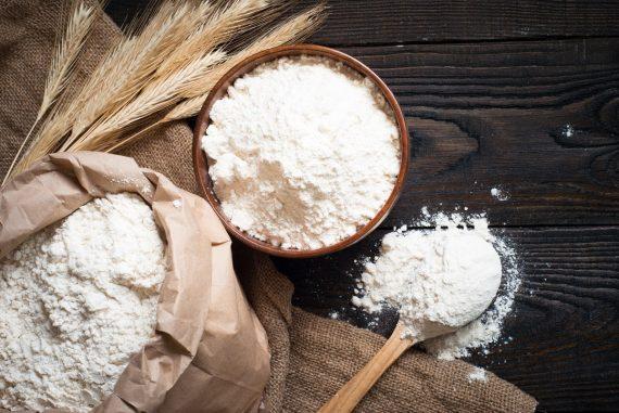 Брашно, Бяло пшенично брашно, Брашно смляно на каменна мелница, бяло брашно силно, каменна мелница,