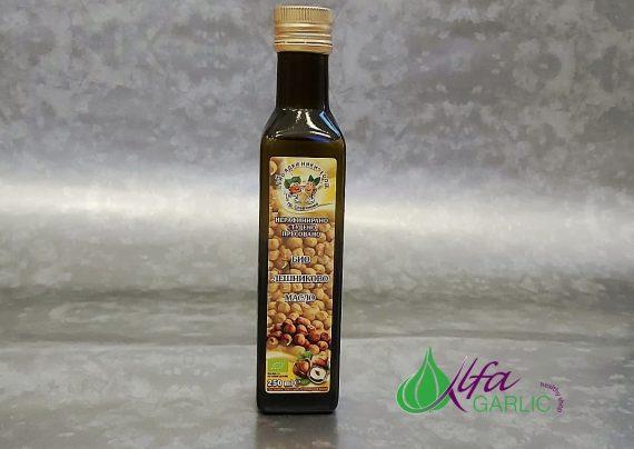 Био лешниково масло, масло, нерафинирано студенопресовано лешниково масло, олио, лешниково масло