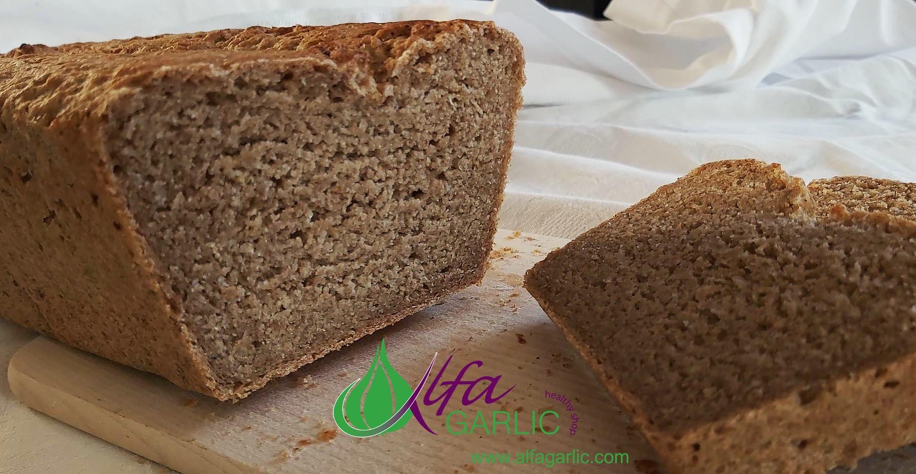 Хляб от пълнозърнесто ръжено брашно Мливо