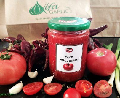 Млени розови домати том