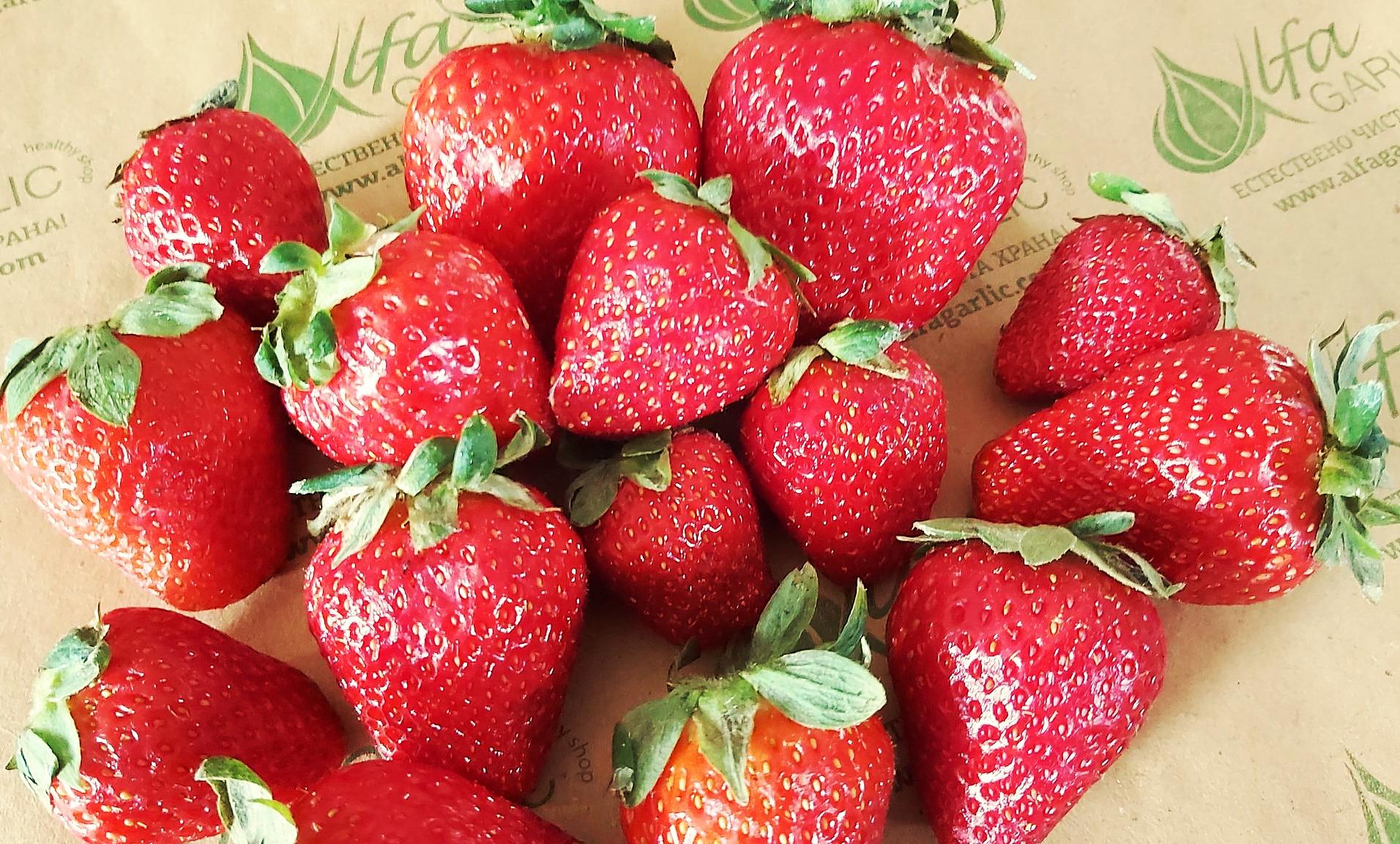 Ягоди, Български ягоди, Плодове, ягода